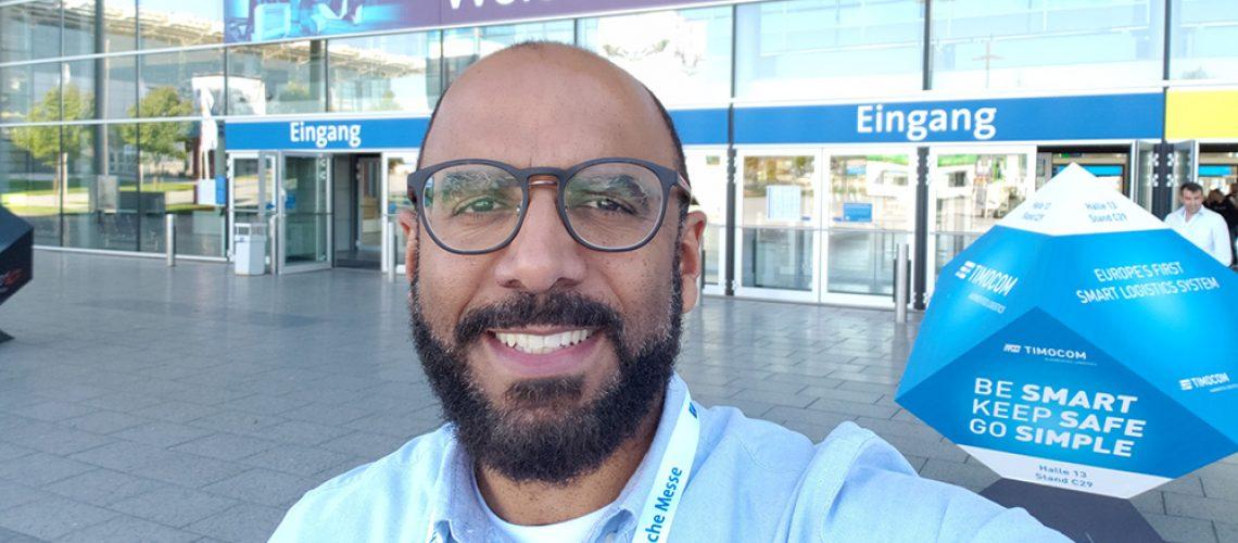 Osmar Oliveira, sócio-diretor da 4Truck esteve no IAA Veículos Comerciais, na Alemanha.