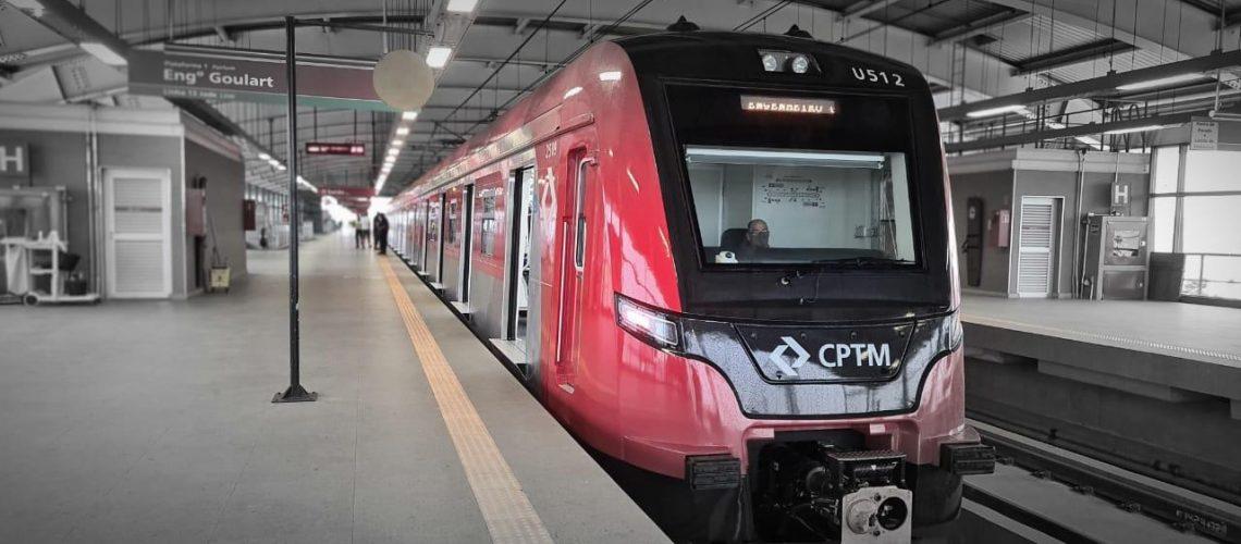 Entrega de Trem Série 2500-21