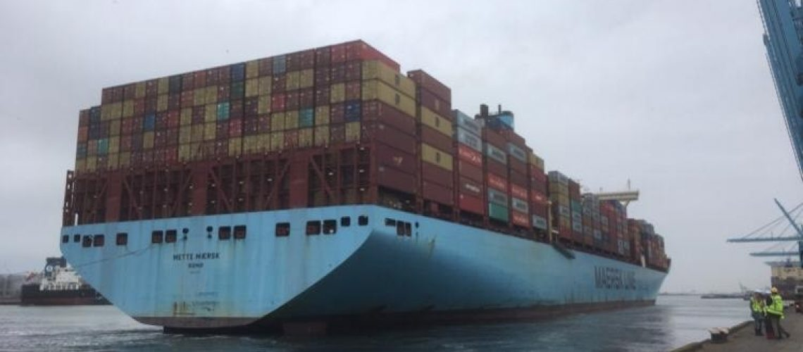 Mette_Maersk_Rotterdam_March